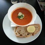 Super zuppa al pomodoro e spezie.