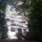 Rock formation just below Hruba Skala castle