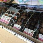 All sorts of chocolates
