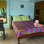 la camera : il letto