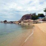 l'angolo più bello della spiaggia fronte resort