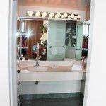 bathroom sink area rm 340