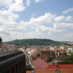 Mesmerizing view of Prague Castle from our room