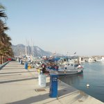 Port de Kardamena, ville juste a coté