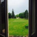 Vista da janela do quarto do primeiro andar