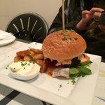 Bicheno butcher's burger