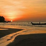 Phuket Sunset and Longtail Boat.... Beautiful Thailand.