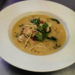 Asian Noodle Soup with Langoustine and Chicken