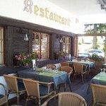 La terrasse du restaurant Gréni