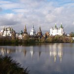 Izmailovsky Market, la foto dal Parco Izmailovo