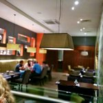 Fancy decor in bar & dining areas