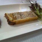 Pate en Croute (foie gras with aspic, in pastry)