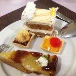 Beautiful selection of puddings