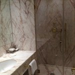 Standard-Marble bathroom, spacious shower