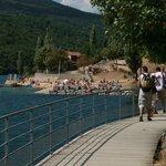 chemin autour du lac