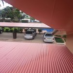 Bad parking, bays need to be marked