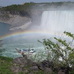 The two Falls, rainbow and Hornblower