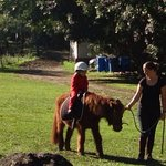 Horse riding for kids