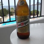 San miguel on the balcony, why not :)