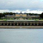 View across Vaux-le-Vicomte