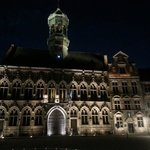 Main square at night