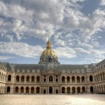 The Hotel National des Invalides - The Cour