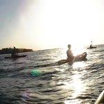 Kayak trip to a tiny island