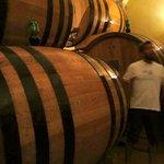 Chianti barrels