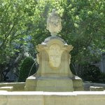 One of the Fountains in the restful old gardens...