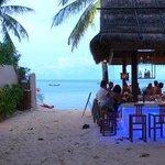 The Beach Club at dusk