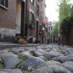 Acorn Street in the Summer