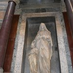 Sculpture inside the Pantheon