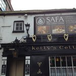 entrance to side of Kelly's Cellars