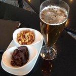 beer, biltong and nuts!