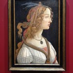 Boticelli's Idealized Portrait of a Lady