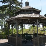 Quaint gazebo to relax in