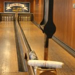 The bowling alley in Pine Hall to keep family busy