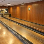 An old-time candlepin bowling alley is available