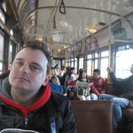 Onboard the Free Tram