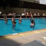 water aerobics  bit of fun