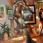 Samuel Lind Bronze Sculpture
