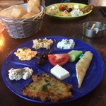 Great plate of meze