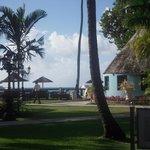 Smaller resort shop on the Caribbean side