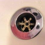 Gunge in Bath plug hole