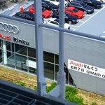 New Audi showroom (opened 7-Jun-14) opposite hotel