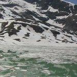 inizio disgelo lago