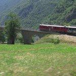 il rosso treno va....