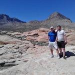At red rocks canyon