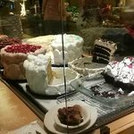 dessert table can't be beat!!