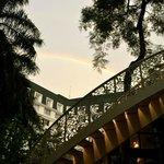 Rainbow over the hotel 1